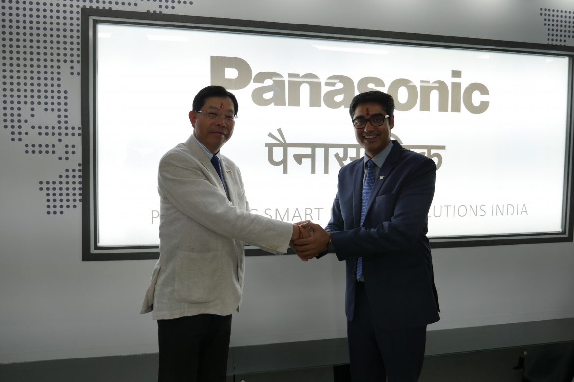 Mr. Hiroyuki Aota - President & CEO, Global Panasonic Smart Factory Solutions and Mr. Manish Sharma, President & CEO Panasonic India.