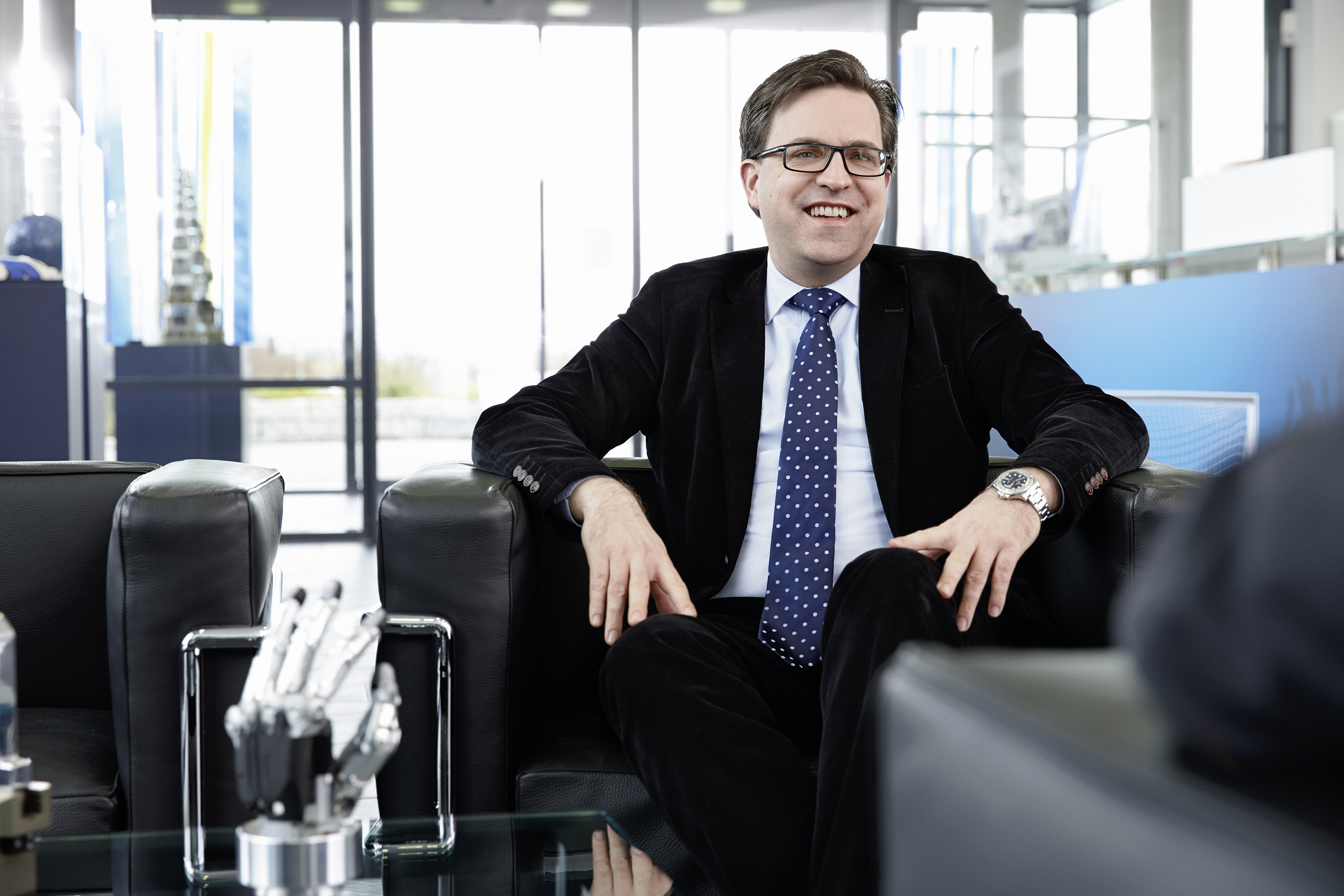 Henrik A. Schunk Chief Executive Officer SCHUNK GmbH & Co. KG, Lauffen/Neckar, Germany Photo: SCHUNK
