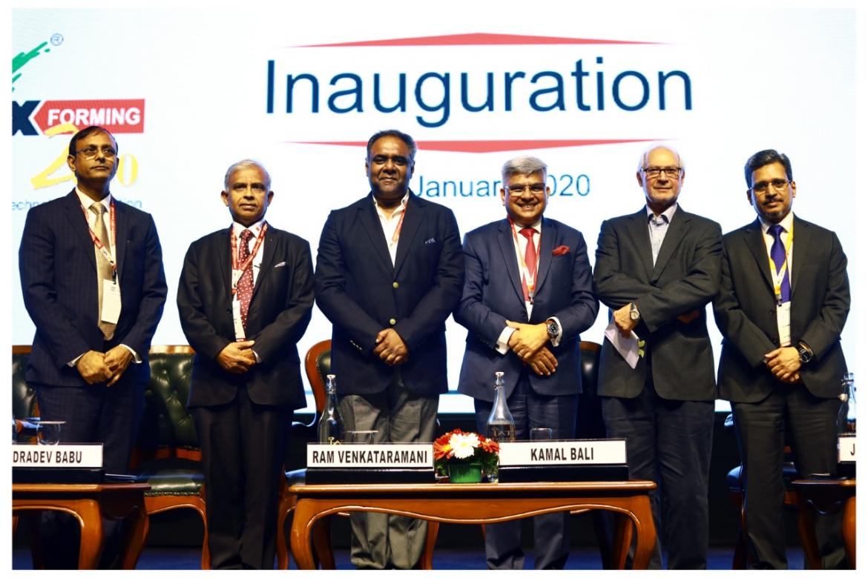 Dignitaries at IMTEX FORMING 2020 - Tooltech 2020 Inauguration