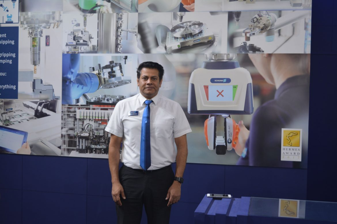 Satish Sadasivan, Managing Director, Schunk Intec India Pvt Ltd